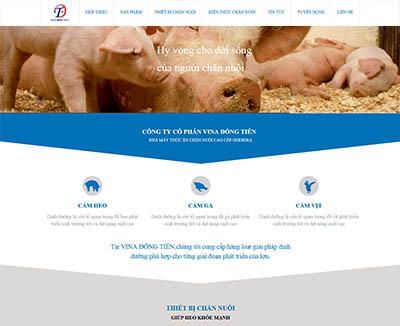Web công ty – Cty1