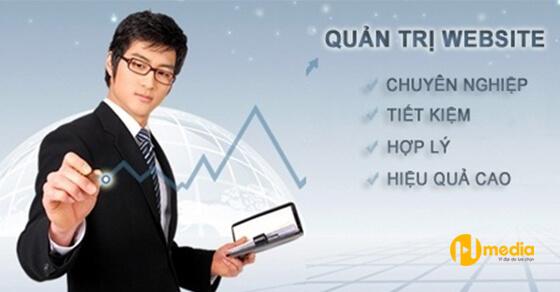 Quản trị website giá rẻ, chuyên nghiệp, uy tín, chất lượng